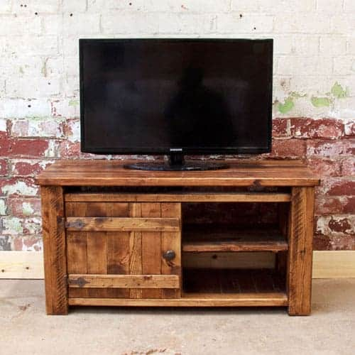 Small Rustic TV Unit