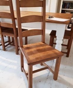 All waxed shaker chair