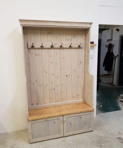 Bench and Coat Rack