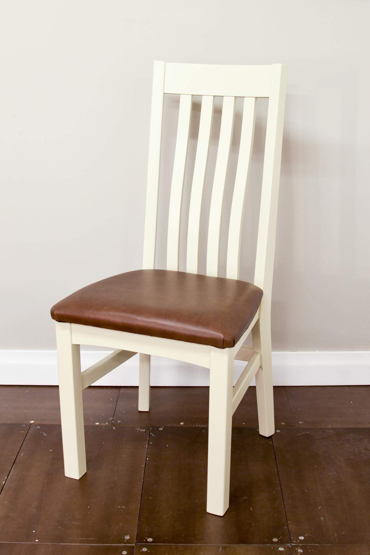 High Back Slated Chair