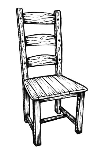Shaker Chair Drawing