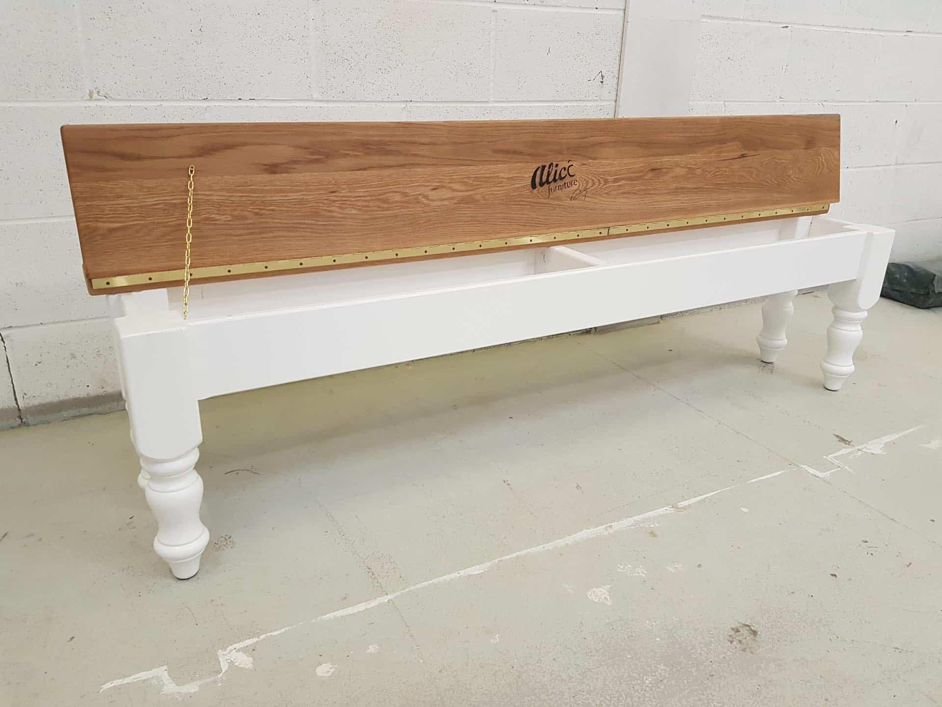Farmhouse Dining Bench With Storage Aj S Farmhouse Furniture