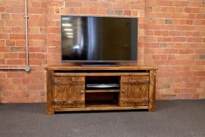 Medium Rustic Plank Tv Unit