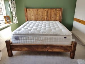 Sherwood Plank Rustic Bed