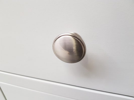 Brushed Steel Knob