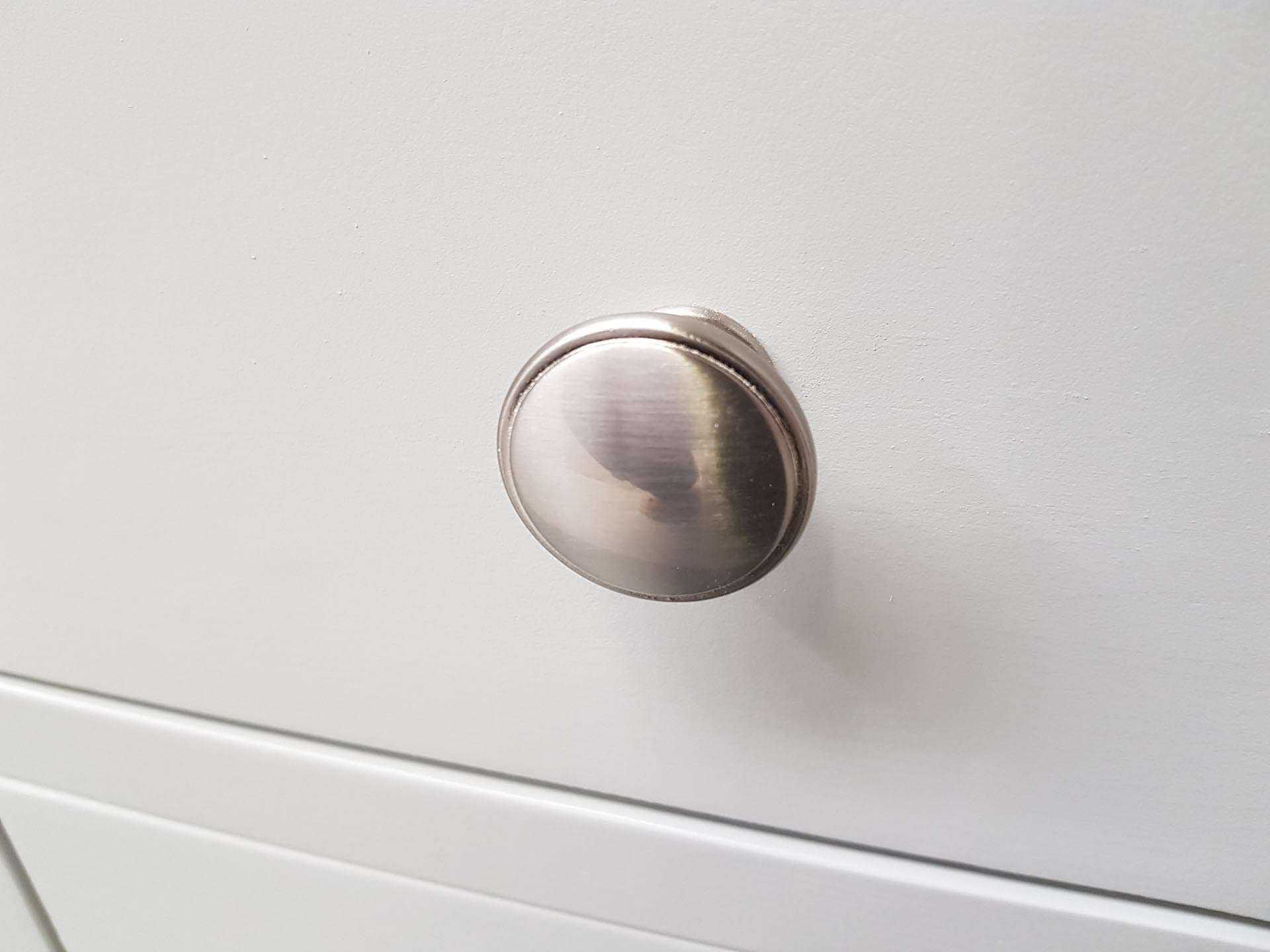 Brushed Steel Knob