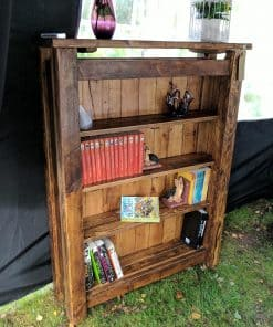 Rustic sherwood Plank bookcase